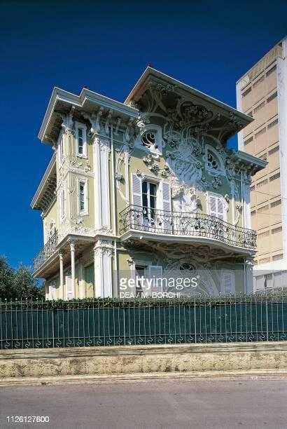 Ruggeri house 19021907 Art Nouveau villa Pesaro Marche Italy 20th century