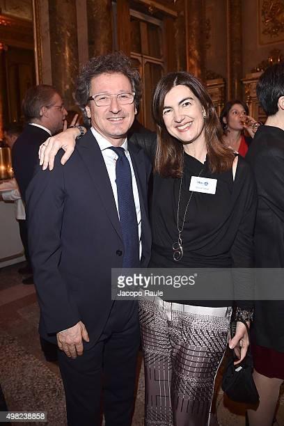 Ruggero Ceriali ancd Silvia Valigi attend the Charity Dancing Party For Haiti hosted by Fondazione Francesca Rava NPH Italia Onlus to support the...