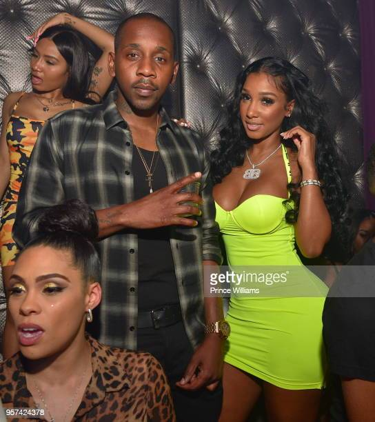 Ruggs and Bernice Burgos attends a Party at Revel on May 11 2018 in Atlanta Georgia