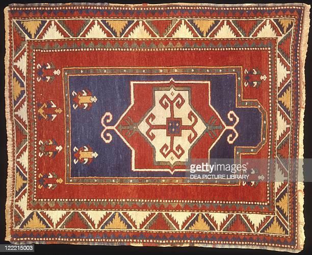 Rugs and Carpets Caucasus region Azerbaijan 19th century Fachralu carpet