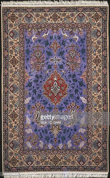 Rugs and Carpets - Iran. 20th century. Esfahan carpet .
