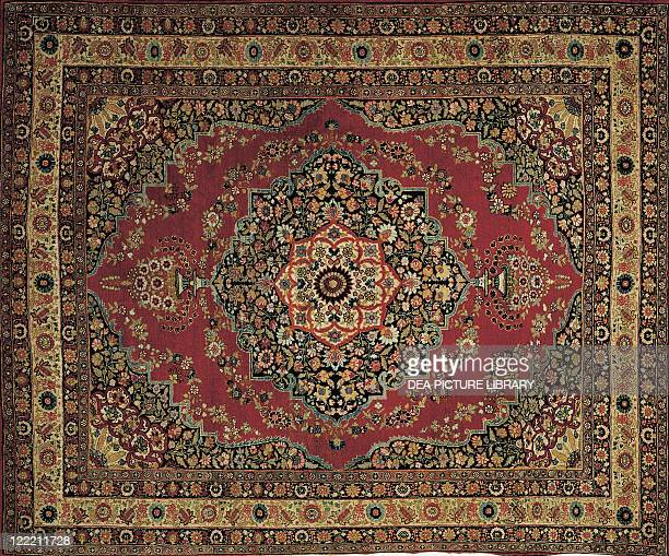 Rugs and Carpets Persia 19th century Tabriz Haji Jalili carpet
