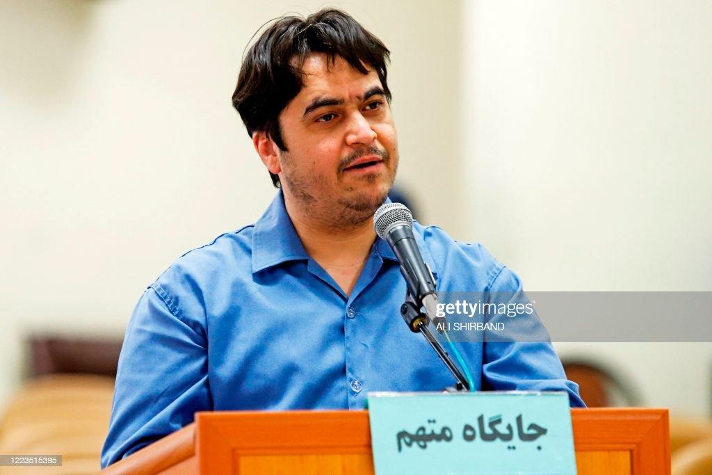 IRAN-FRANCE-COURT : News Photo
