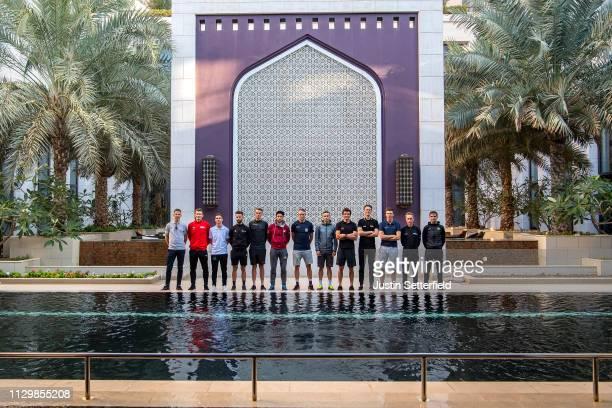Rui Alberto Faria Da Costa of Portugal and UAE - Team Emirates / André Greipel of Germany and Team Arkéa - Samsic / Bryan Coquard of France and Team...