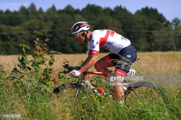 Rui Alberto Faria Da Costa of Portugal and UAE Team Emirates / during the 77th Tour of Poland 2020, Stage 1 a 195,8km stage from Silesian...
