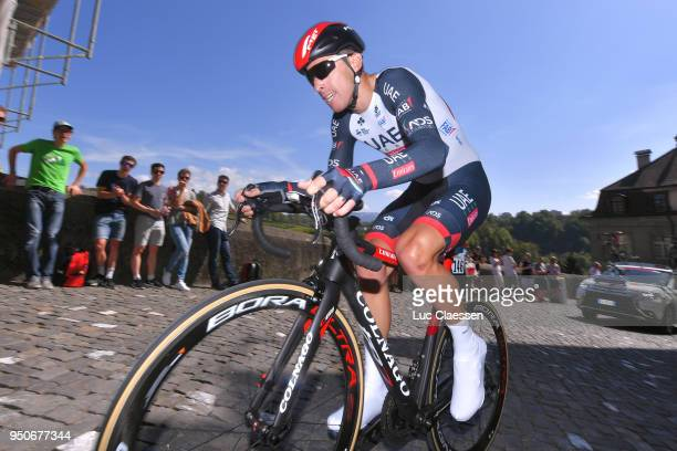 Rui Alberto Faria da Costa of Portugal and UAE Team Emirates / during the 72nd Tour de Romandie 2018 Prologue a 4km individual time trial stage from...
