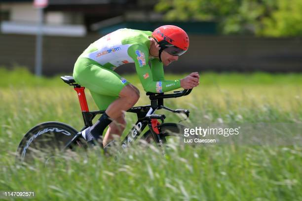 Rui Alberto Faria da Costa of Portugal and UAE Team Emirates Green Sprint Jersey / during the 73rd Tour de Romandie 2019, Stage 5 a 16,9km Individual...