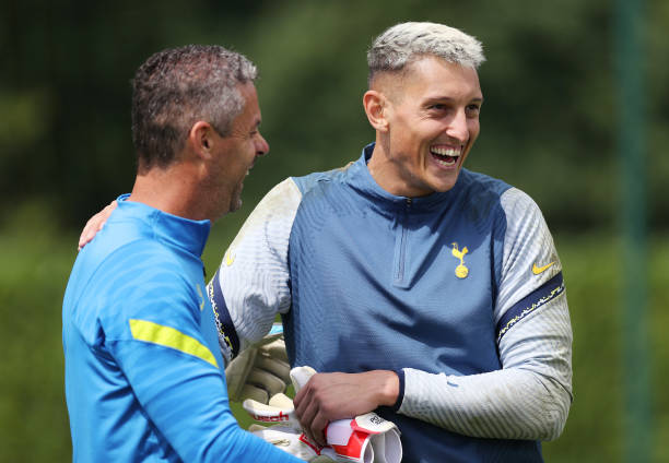 GBR: Tottenham Hotspur Pre-Season Training Session