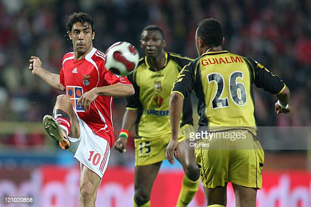 Rui Costa during the Portuguese Bwin League match between Beira Mar and SL Benfica in Aveiro Portugal on April 2007