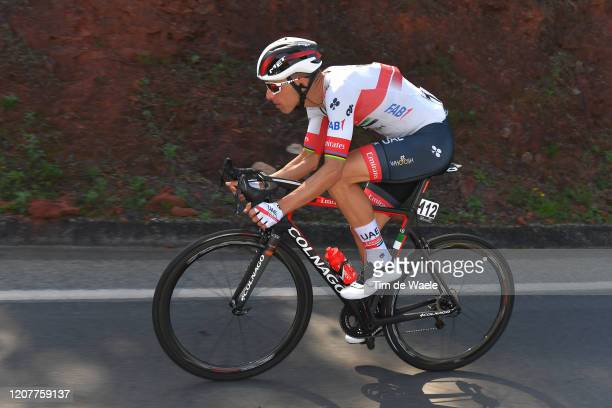 Rui Costa of Portugal and UAE-Team Emirates / during the 46th Volta ao Algarve 2020, Stage 3 a 201,9Km stage from Faro to Tavira / #VAlgarve2020 /on...