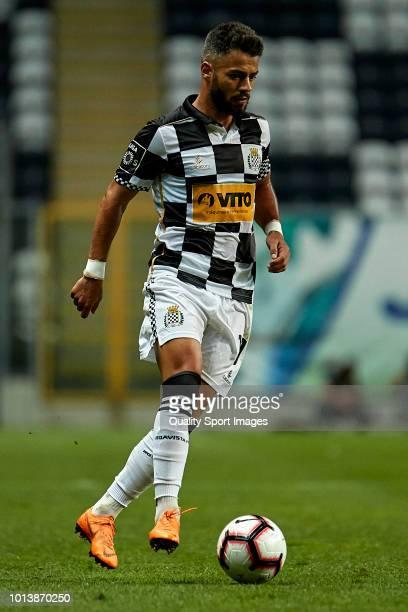 Rui Filipe Caetano 'Carraça' of Boavista CF in action during the Pre-season friendly match between Boavista FC and Getafe CF at Estadio do Bessa XXI...