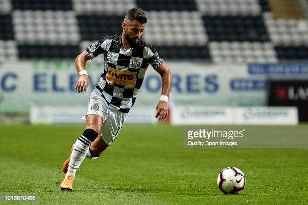 Rui Filipe Caetano 'Carraça' of Boavista CF in action during the Preseason friendly match between Boavista FC and Getafe CF at Estadio do Bessa XXI...