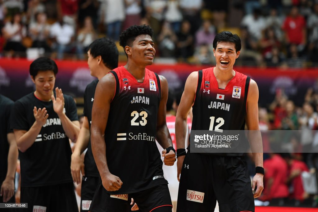 Japan v Iran - FIBA Men's World Cup Asian Qualifier 2nd Round Group F : ニュース写真