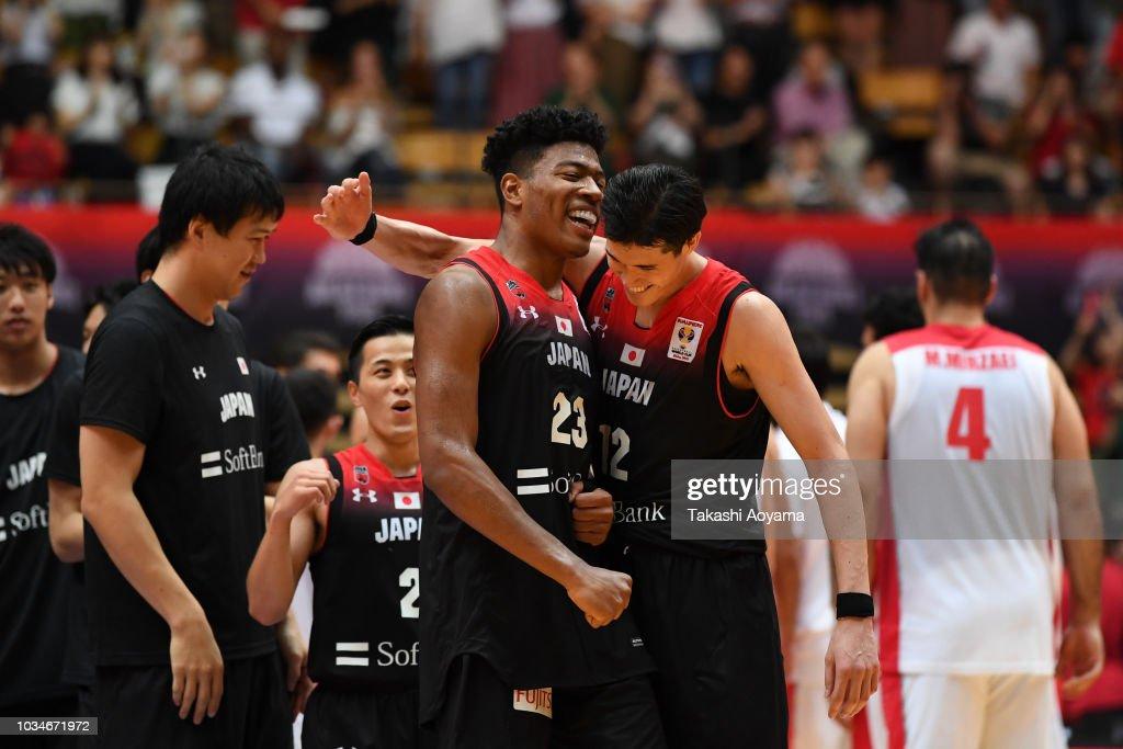 Japan v Iran - FIBA Men's World Cup Asian Qualifier 2nd Round Group F : News Photo