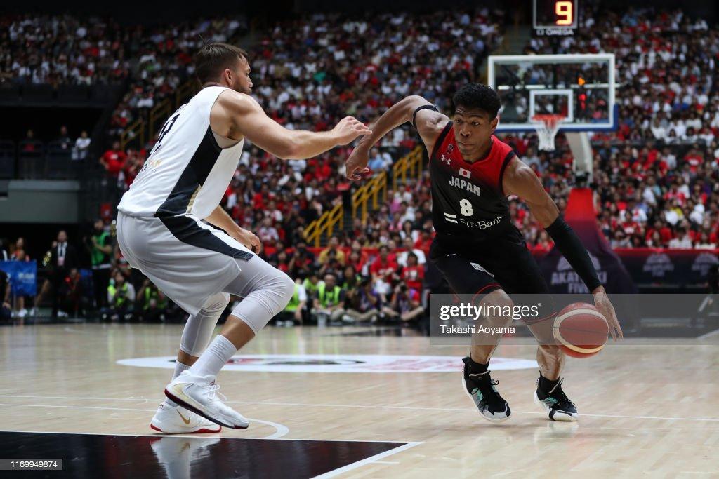 Japan v Germany - International Basketball Games : ニュース写真