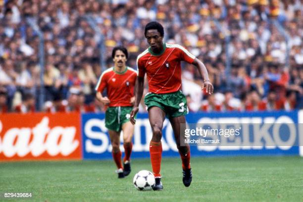 Rui Jordao of Portugal during the European Championship match between West Germany and Portugal at Meinau Strasbourg Paris on 14th June 1984
