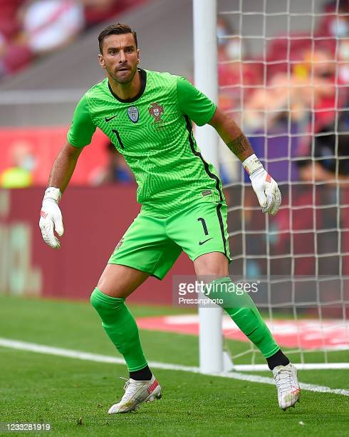 Rui Patricio of Portugal during the friendly match between Spain and Portugal played at Wanda Metropolitano Stadium on June 4, 2021 in Madrid, Spain.