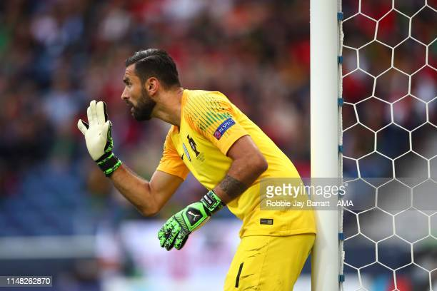 Rui Patricio of Portugal during the UEFA Nations League Semi-Final match between Portugal and Switzerland at Estadio do Dragao on June 5, 2019 in...