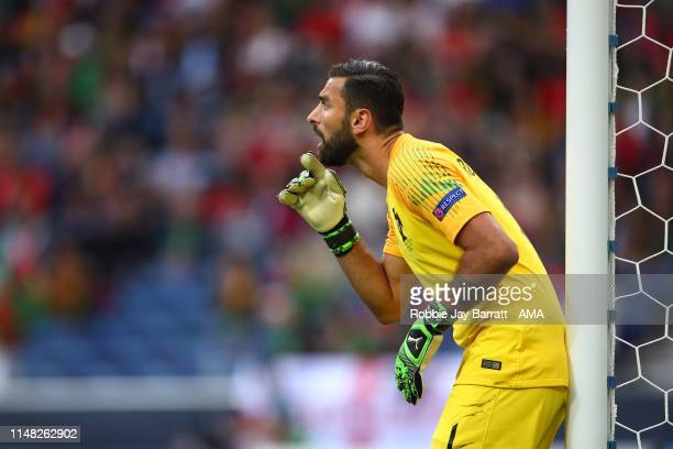 Rui Patricio of Portugal during the UEFA Nations League SemiFinal match between Portugal and Switzerland at Estadio do Dragao on June 5 2019 in Porto...