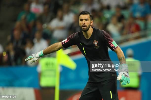 Rui Patricio of Portugal in action during the 2018 FIFA World Cup Russia group B match between Portugal and Spain at Fisht Stadium on June 15 2018 in...