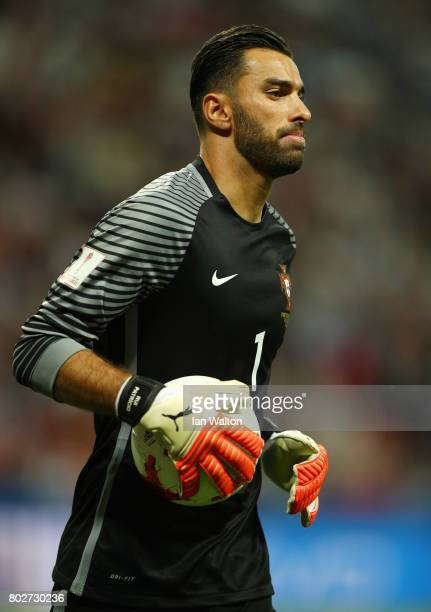 Rui Patricio of Portugal in action during the FIFA Confederations Cup Russia 2017 SemiFinal between Portugal and Chile at Kazan Arena on June 28 2017...