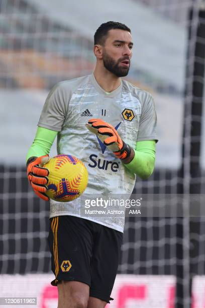 Rui Patricio of Wolverhampton Wanderers during the Premier League match between Wolverhampton Wanderers and West Bromwich Albion at Molineux on...