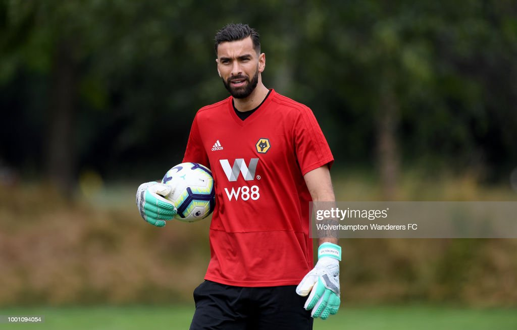 First Day at Wolverhampton Wanderers for New Signings Raul Jimenez and Rui Patricio : News Photo