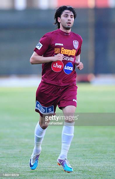 Rui Pedro of CFR 1907 Cluj in action during the Romanian Liga 1 match between CFR 1907 Cluj and FC Steaua Bucuresti held on May 20 2012 at the Dr...