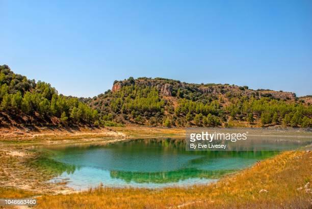 ruidera lagoon - 潟湖 ストックフォトと画像