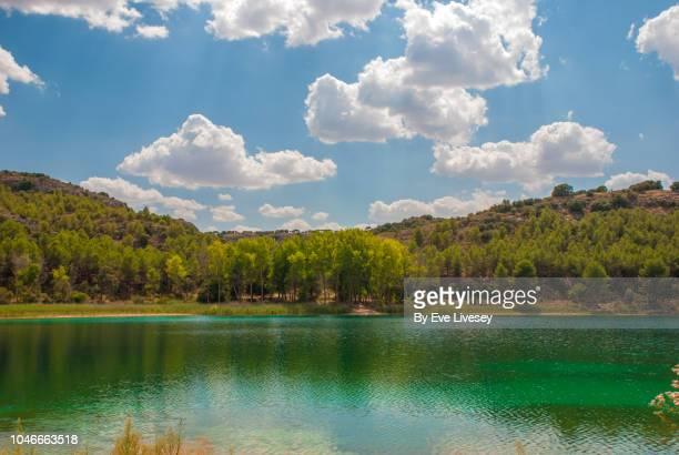 ruidera lagoon - laguna fotografías e imágenes de stock