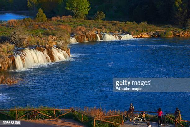 Ruidera Lagoons Lagunas de Ruidera Natural Park Albacete and Ciudad Real provinces Spain