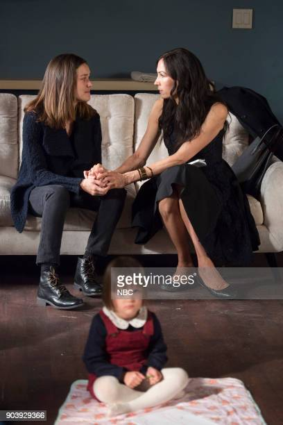 THE BLACKLIST Ruin Episode 509 Pictured Megan Boone as Elizabeth Keen Katherine Emily Sarah Kell as Agnes Famke Janssen as Susan Scottie Hargrave