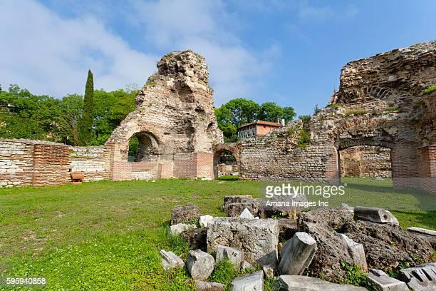 Ruin of ancient Roman bath