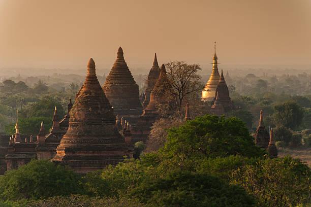 Ruin of pagodas in Bagan