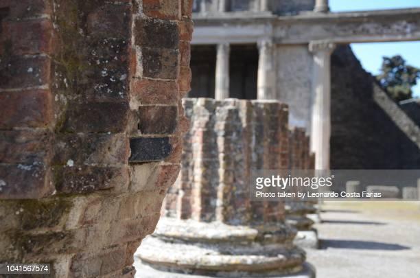 ruin of pompeii - leonardo costa farias stock photos and pictures
