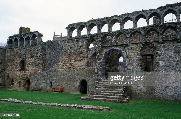 Ruin of the Bishop's Palace St David's Cathedral Saint David's Wales United Kingdom 6th century