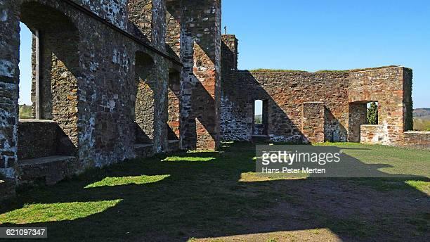 ruin of Ulmen Castle, Ulmen, Vulkaneifel