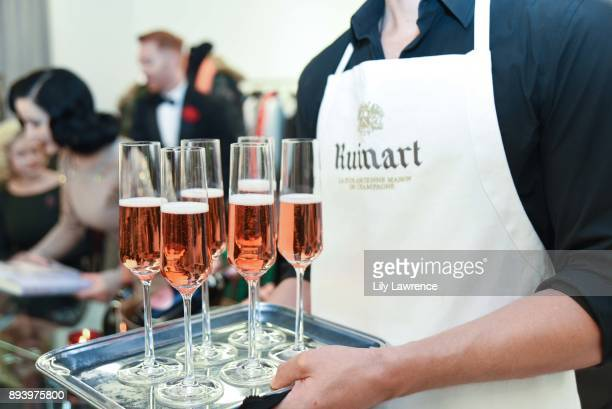 Ruinart Champagne is served at Ruinart Champagne celebrates Dita Von Teese and her scandalous fragrance collaboration with Heretic Parfum at Maxfield...