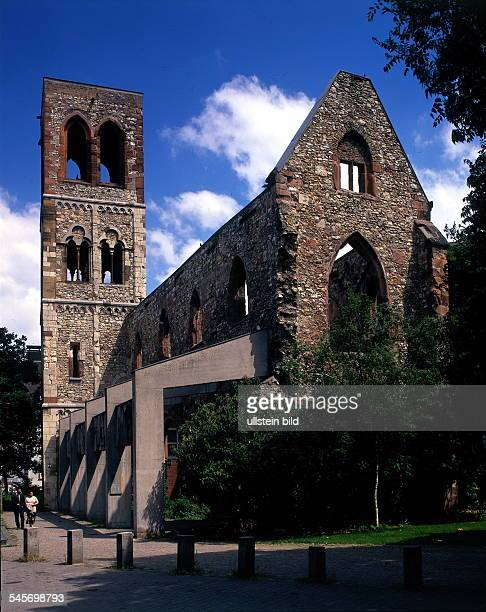 Ruine der KarmeliterKirche 1996