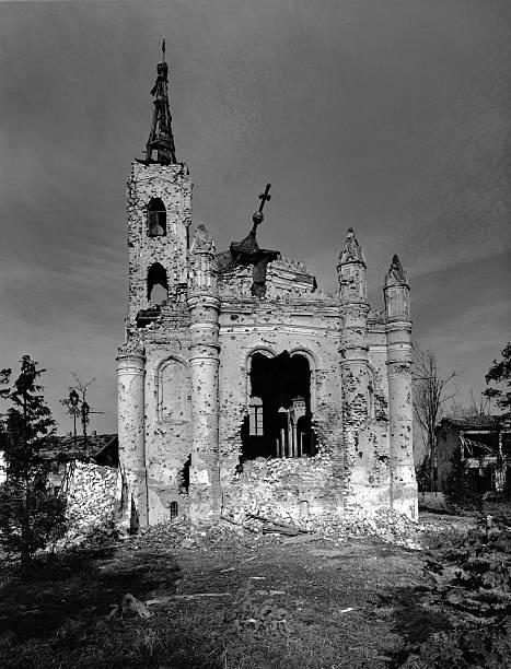 HRV: 25th August 1991 - (CONTENT WARNING) Croatian War Of Independence: Battle Of Vukovar Begins