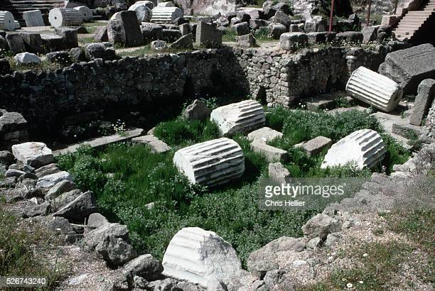 Ruined Base of Halicarnassus Mausoleum