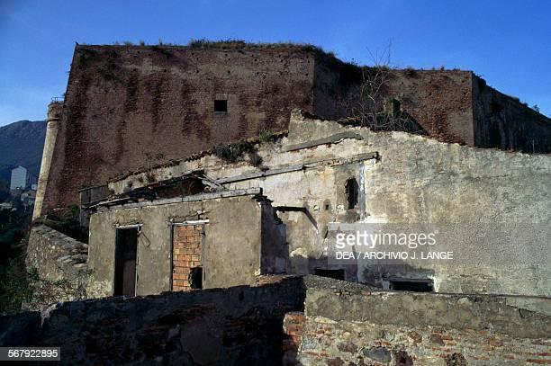 Ruined buildings near Kasbah Fort Bejaia Algeria 12th16th century