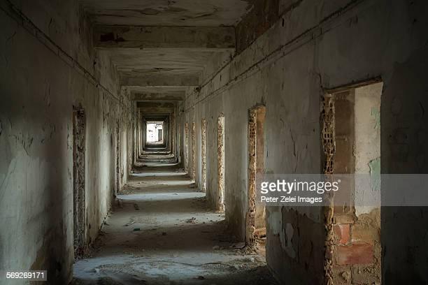 Ruined corridor