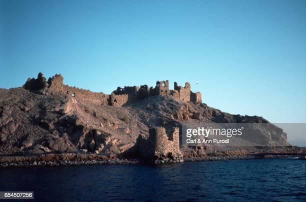 Ruined Red Sea Crusader Fortress