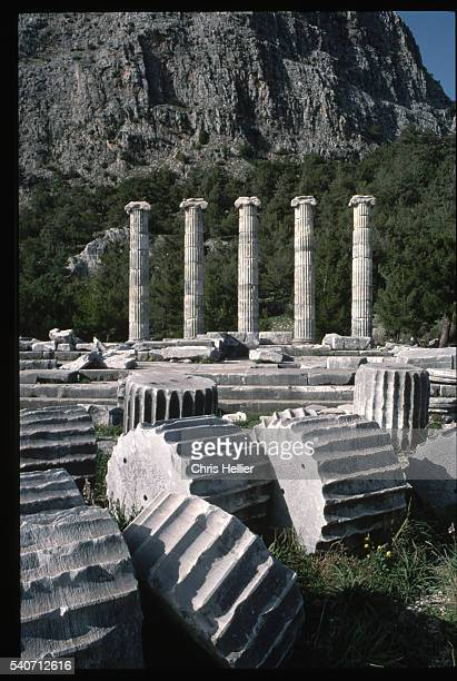Ruined Temple of Athena at Priene