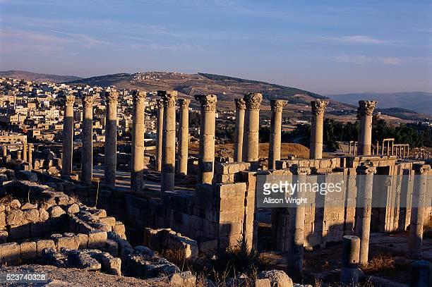Ruins at Ancient City of Jerash