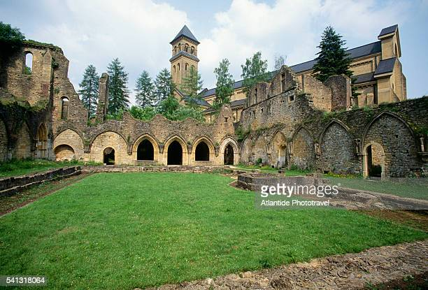 Ruins at Orval Abbey