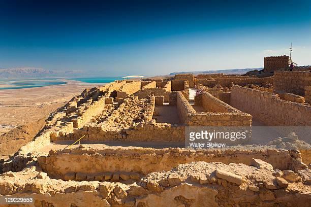 Ruins at the Masada plateau