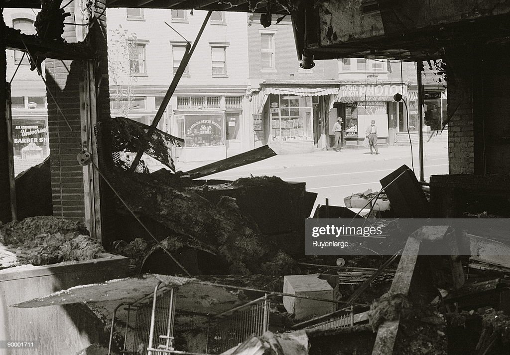 Riot damage in D.C. : News Photo
