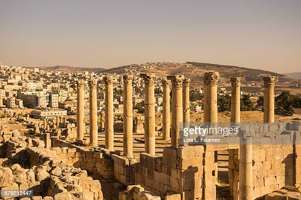 Ruins of a temple in Jerash